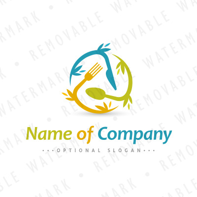 Global food logo template 65718 business logo template accmission Images