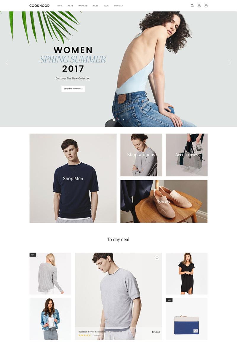 GoodHood - Fashion WooCommerce Theme - screenshot