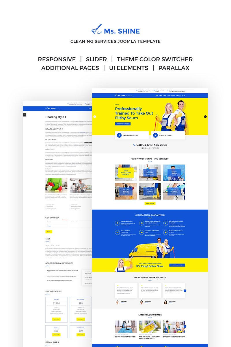 Ms. Shine - Cleaning Services Responsive №65778