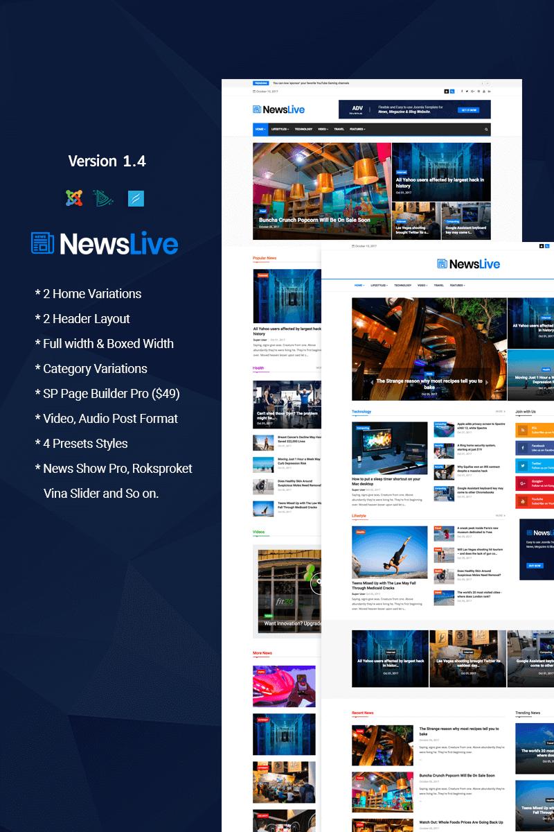 Newslive - Responsive News Magazine №65707