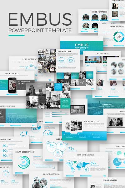 Plantilla PowerPoint para Sitio de Negocio y Servicios #65749