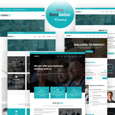 Tema de WordPress #65710 para Sitio de Agencias de marketing