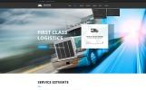 """Responzivní Šablona webových stránek """"Logistic & Transportation  - Bootstrap"""""""