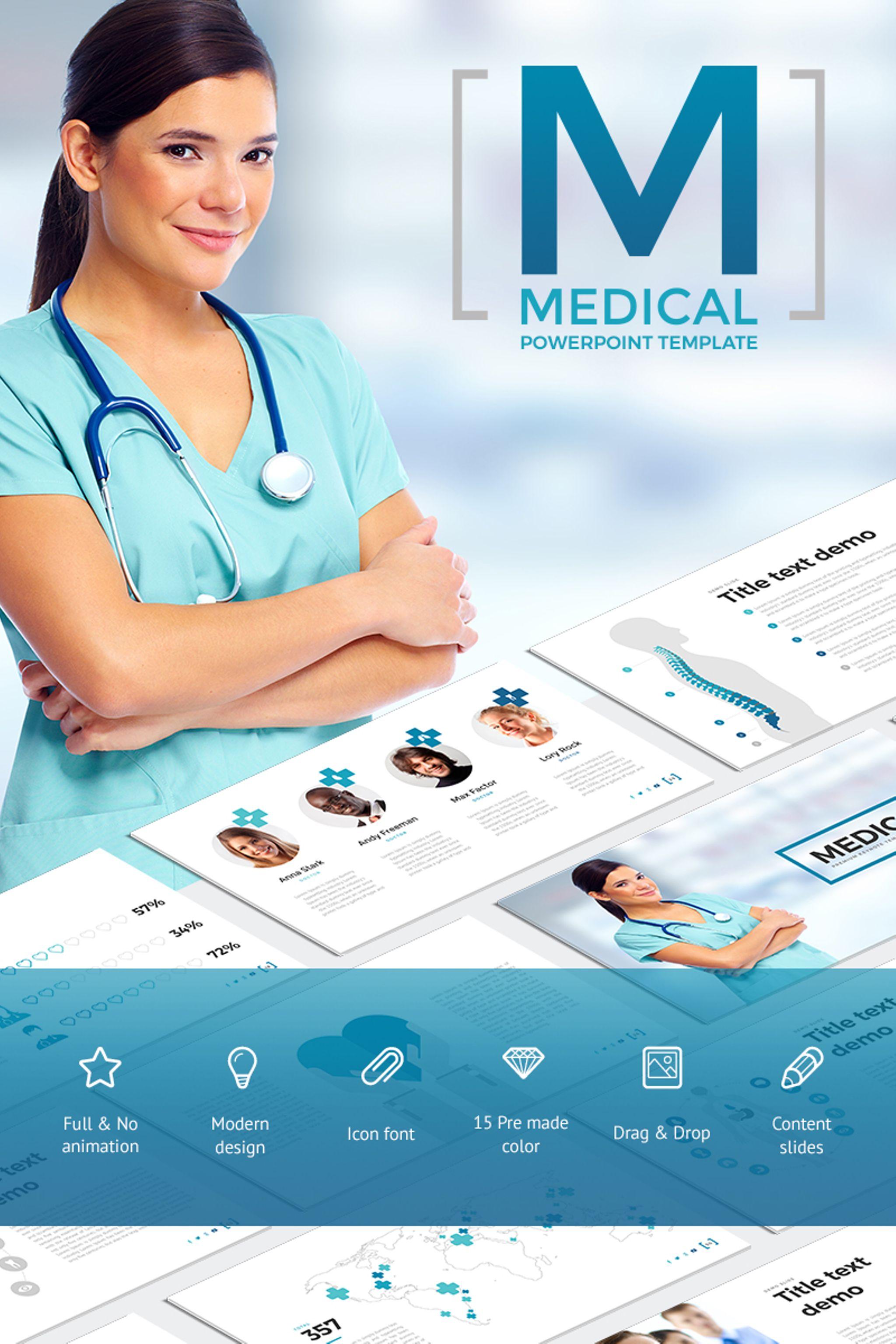 Szablon PowerPoint Medical - #65790