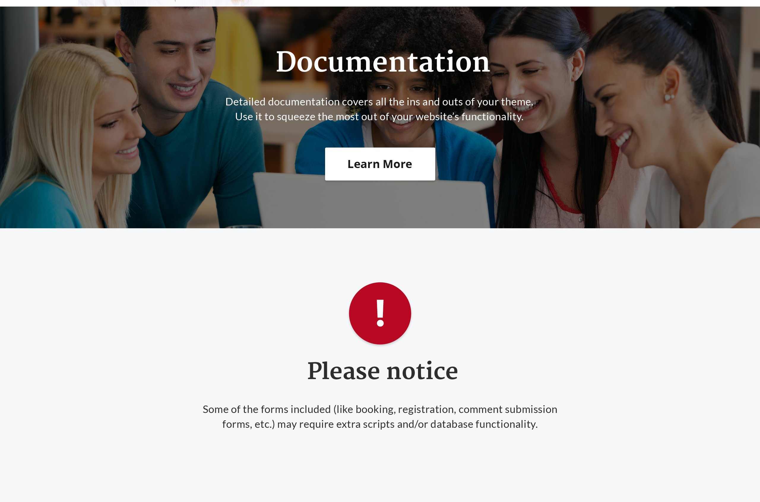 Jonathan Carroll - University HTML Landing Page Template