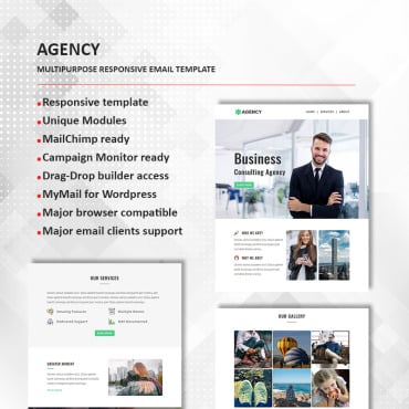 Preview image of Agency - Multipurpose Responsive