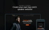 Speaker - Life Coach WordPress Theme