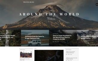 TravelBlog - Travel Guide Joomla Template