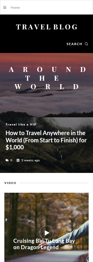 TravelBlog - Travel Guide Joomla Template 6