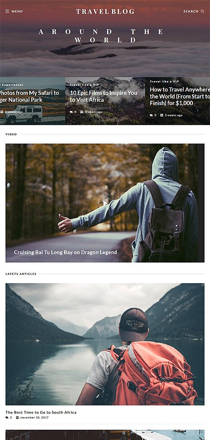 TravelBlog - Travel Guide Joomla Template 4