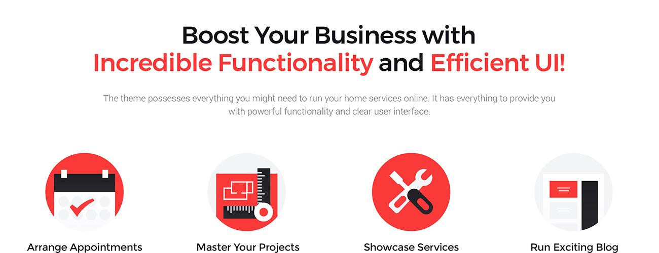 Website Design Template 65855 - multipurpose premium powerful