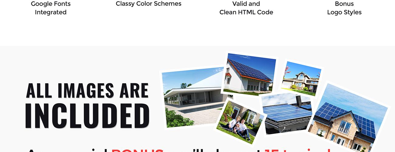 Website Design Template 65855 - powerful