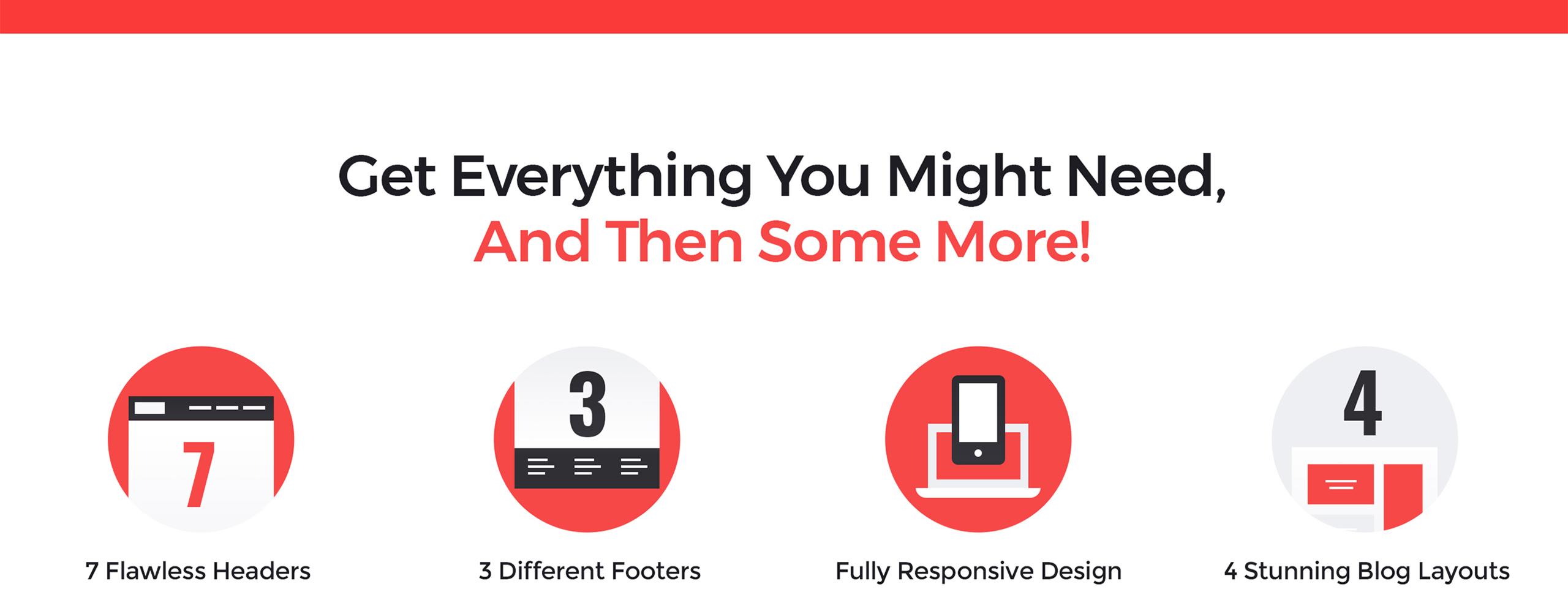 Website Design Template 65855 - html service responsive multipurpose premium powerful