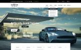 Auto Market Bootstrap Website Template
