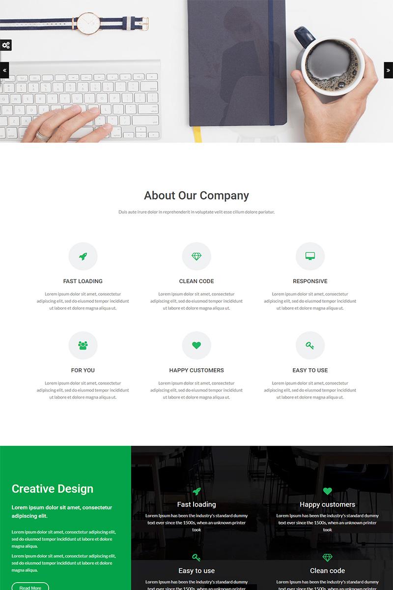 Luisa Multipurpose Website Template - screenshot