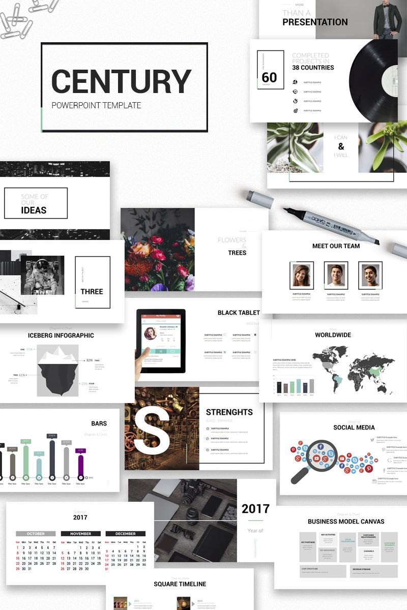 Szablon PowerPoint Century - #65813