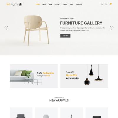 Template siti web di design e fotografia templatemonster for Siti design arredamento