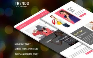 Trends - Responsive Newsletter Template