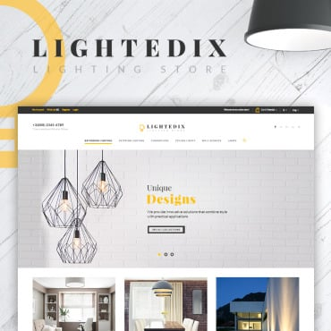 Preview image of Lightedix - Lighting Store