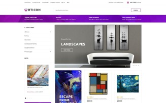 Articon - Art Gallery Store Magento Theme