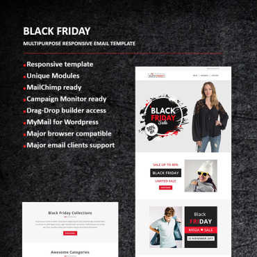 Preview image of Black Friday - Email