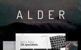 Alder - Plantilla WordPress de Una Sola Página