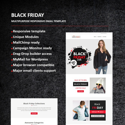 207 Newsletter Templates Newsletter Email Templates Templatemonster