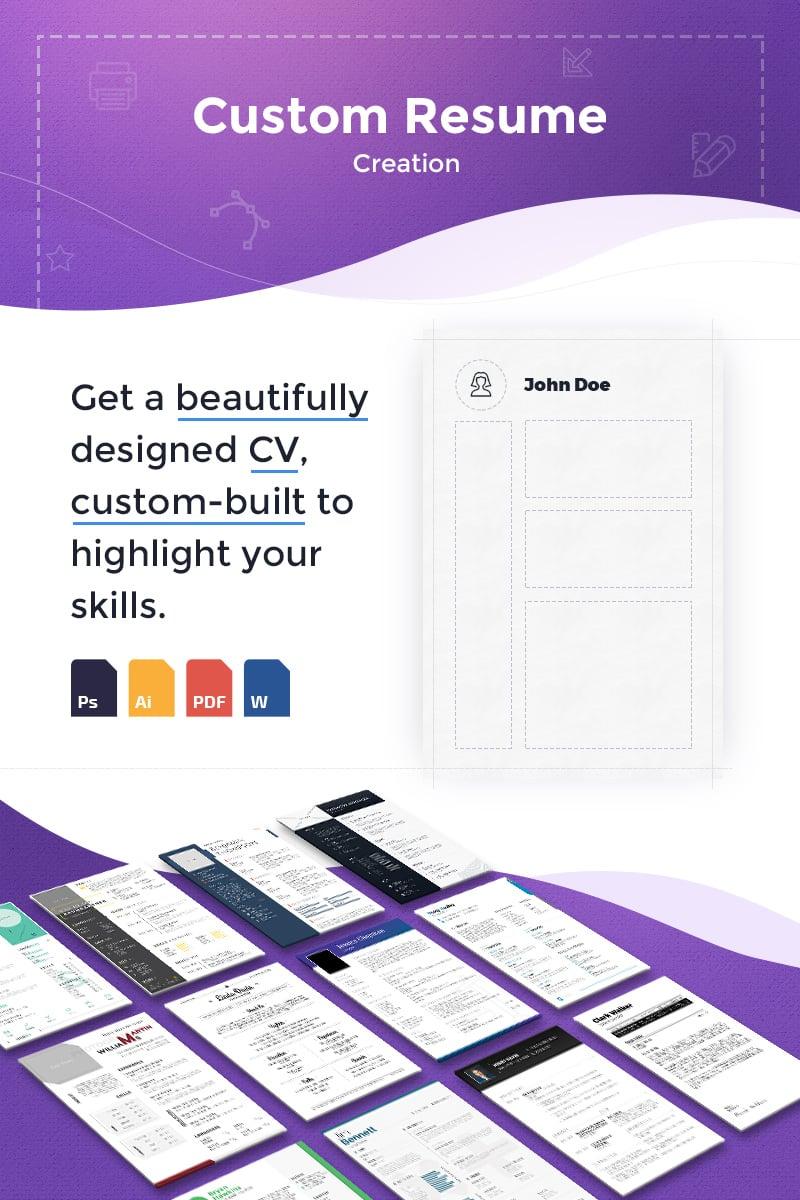Custom Resume Creation Resume Template