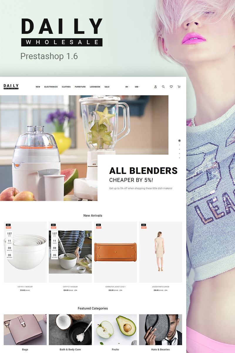Daily Wholesale PrestaShop Theme