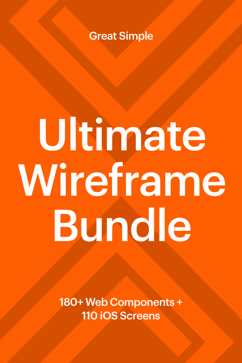 "Elementos De IU ""Basement Wireframe Bundle"" #65951"