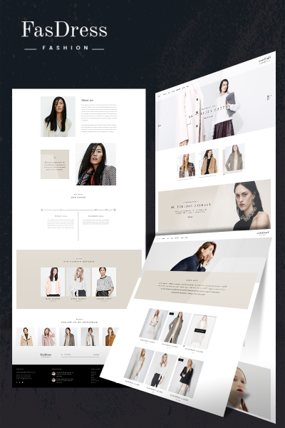 Fasdress  Fashion WooCommerce Theme #65954