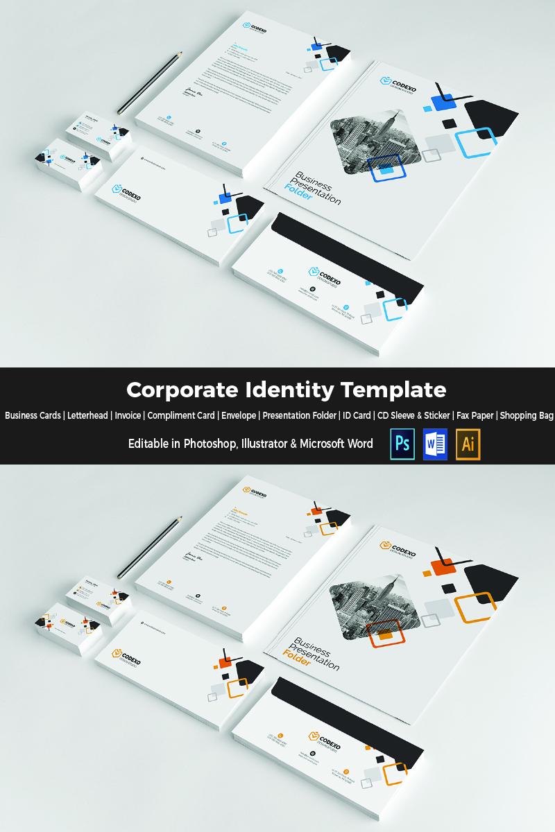 Four Colors Corporate Identity Template - screenshot