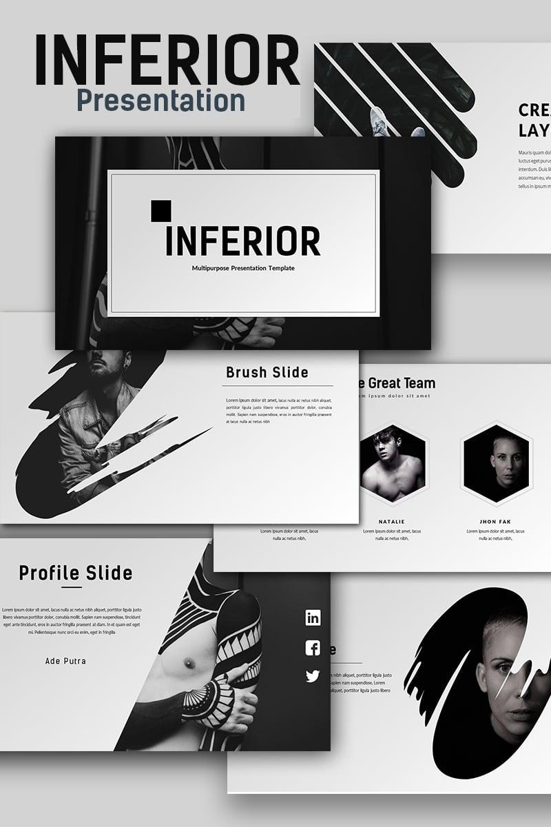 Inferior Creative Presentation Powerpoint #65999