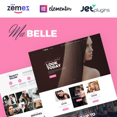 MaBelle - Beauty Salon - HTML5 WordPress Template