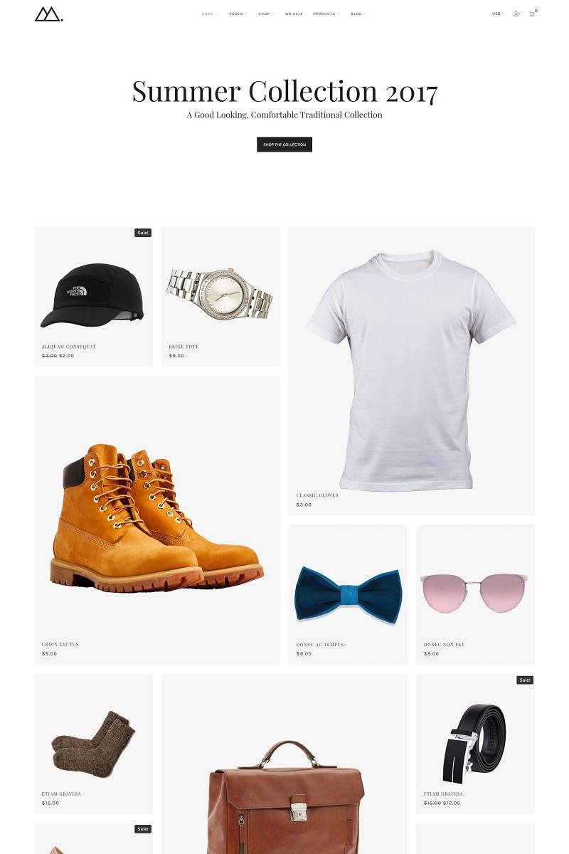 Mira - Minimal WooCommerce Theme - screenshot
