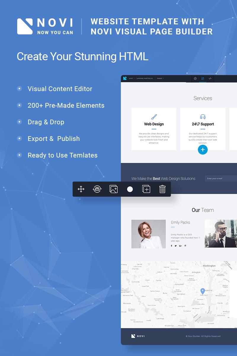 Responsive Novi -  Corporate & Business Multipurpose with HTML Builder Web Sitesi #65992