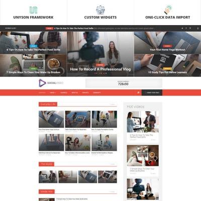 Tema de WordPress #53017 para Sitio de Camarógrafos