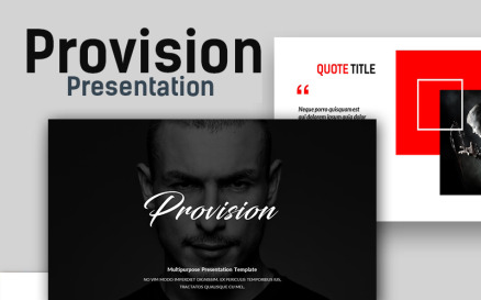 Provision Creative Presentation PowerPoint Template