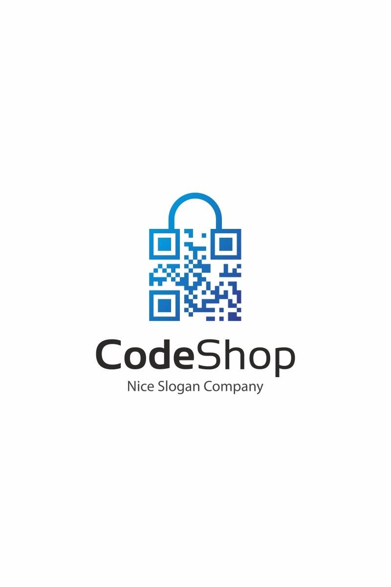 code shop logo template  66001