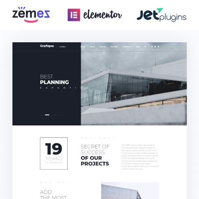 Architecture wordpress theme | website templates.