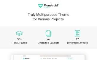 Monstroid2 Light - Multipurpose Website Template