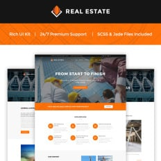 57 best construction company website templates
