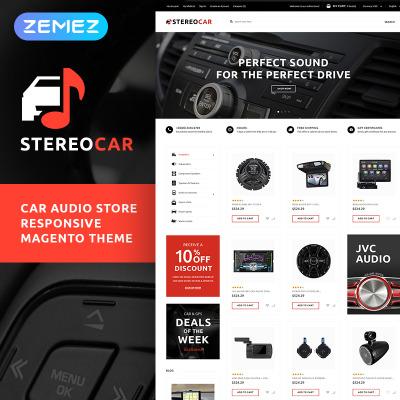 Car Audio Templates   TemplateMonster