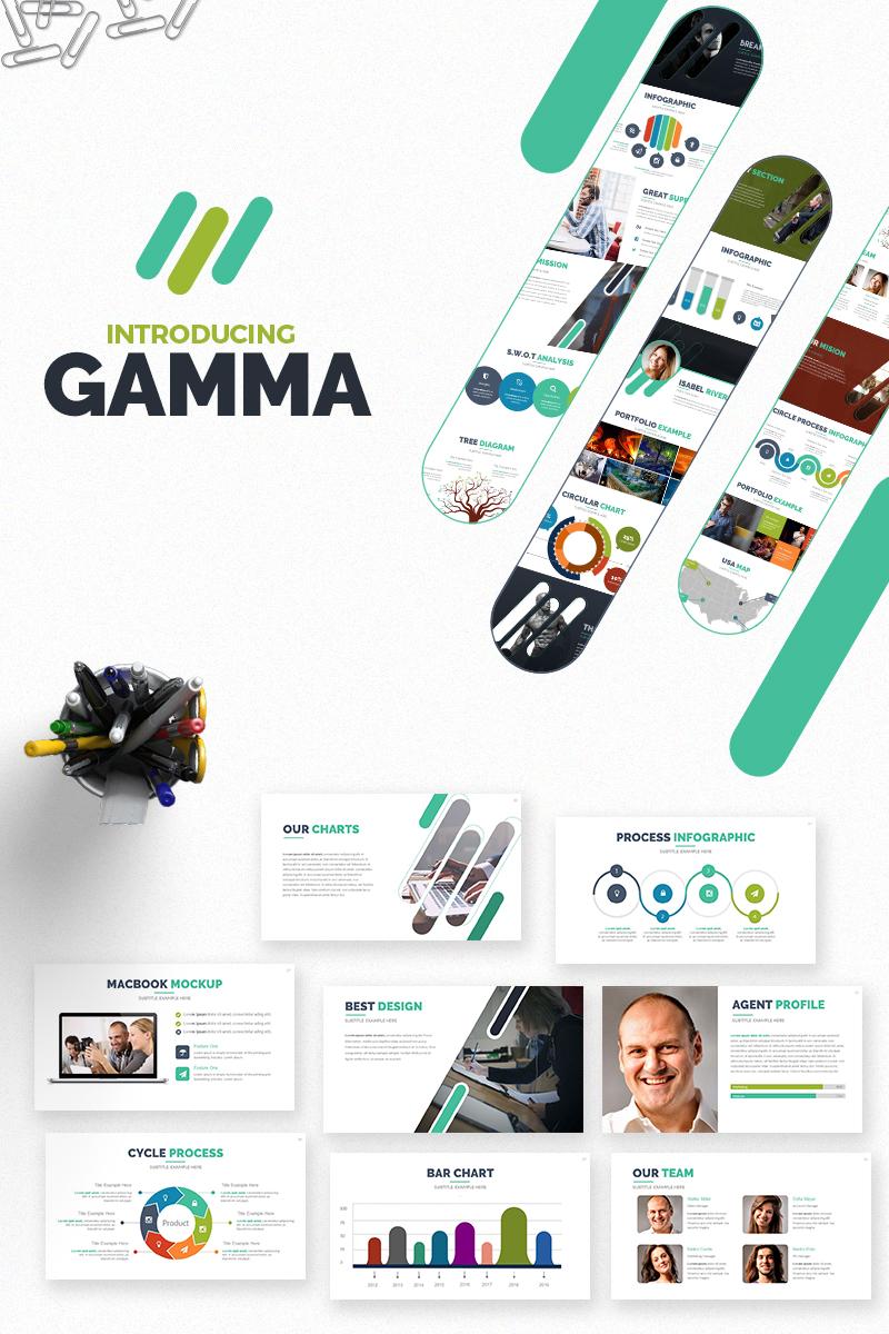 Szablon PowerPoint Gamma #66041