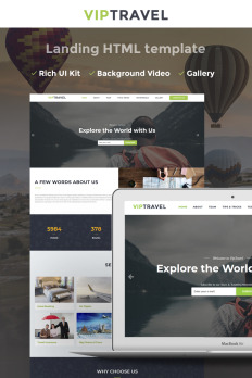Po Gallery Template Html   Landing Page Gallery Templates Templatemonster