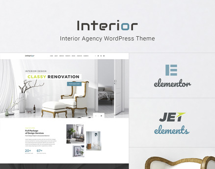 Interior - Interior Design Company Responsive WordPress Theme