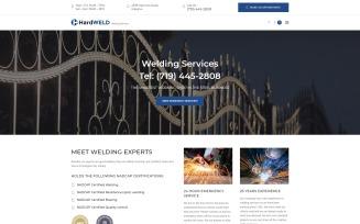 HardWeld - Welding Service Responsive WordPress Theme