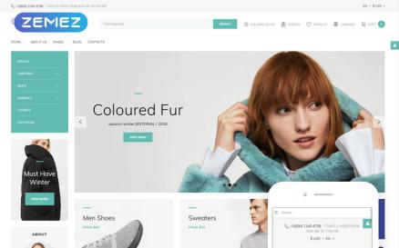 Garb Fashion - Fashion Store Joomla Template