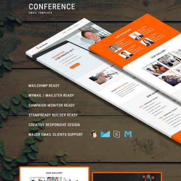 Preview image of Conference - Responsive