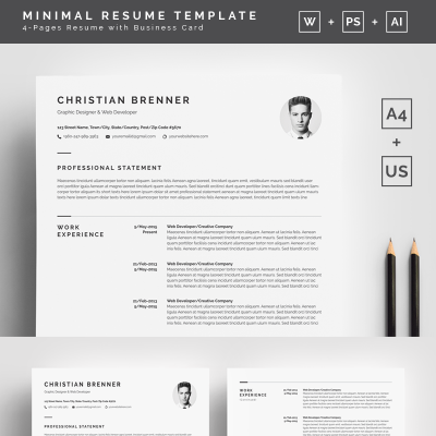 personal pages templates templatemonster